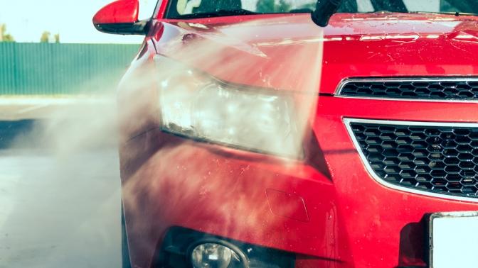 1, 5или 10комплексных моек автомобиля или сезонное хранение шин вцентре Pole Position