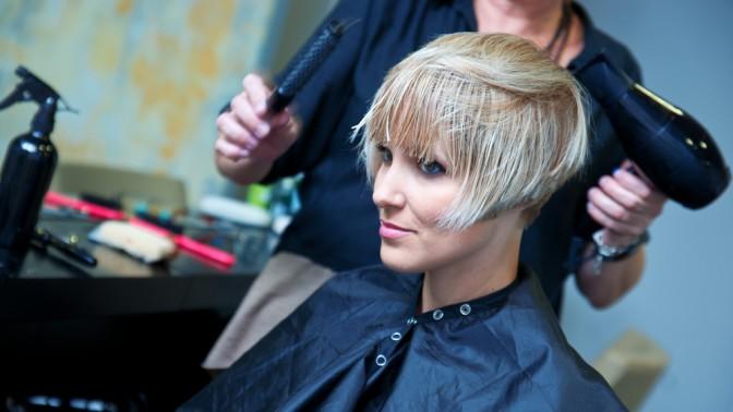 Стрижка, окрашивание, укладка, ботокс или кератин для волос всалоне красоты «Первая леди»