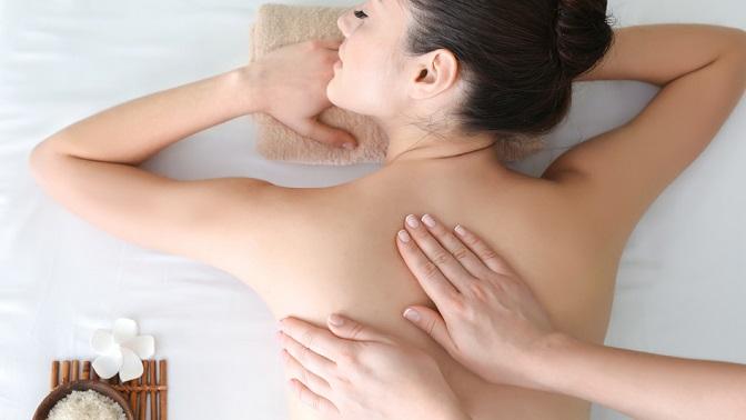 Сеансы массажа вфизкультурном центре «Все свои»