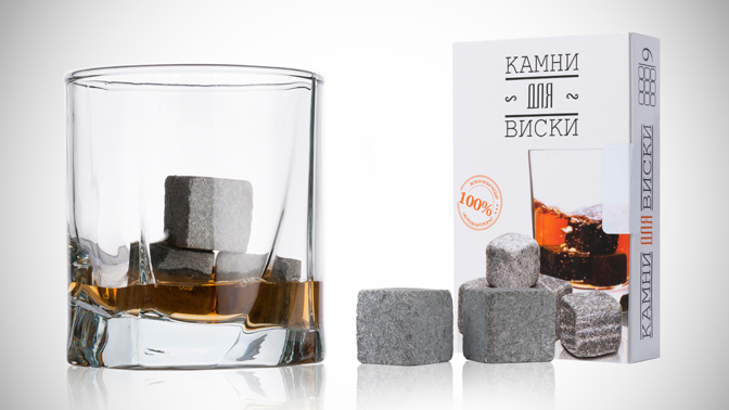 Наборы камней изстеатита Whiskey Stones