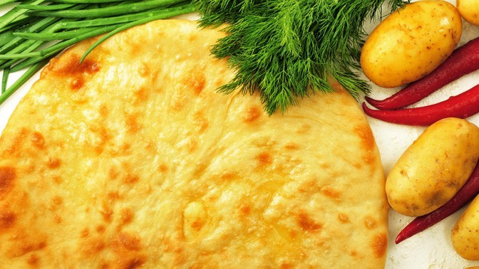 Сет изпицц или осетинских пирогов отпекарни «Осетия»