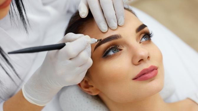 Перманентный макияж бровей, век или губ встудии красоты Sweet Lab