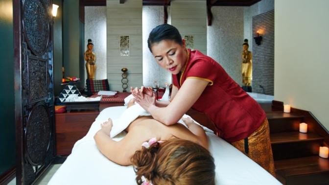 SPA-программа, традиционный тайский или точечный китайский массаж встудии красоты Global SPA