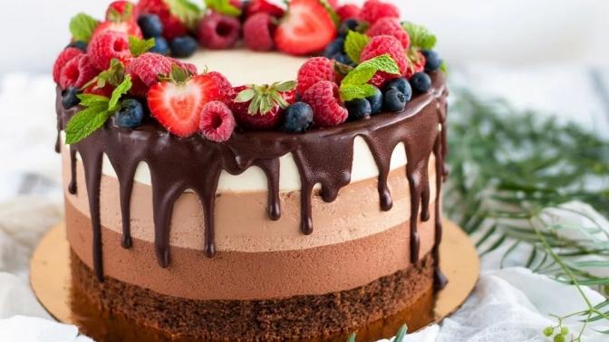 Заказ торта весом 2, 3, 5или 7килограммов сподарком