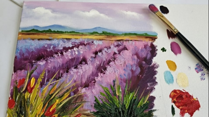 Онлайн-курсы живописи отстудии «Аля Прима»