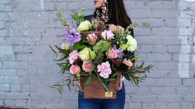 d58f10ac Скидки, Букет или ящик с цветами, купоны от Biglion в Ялте