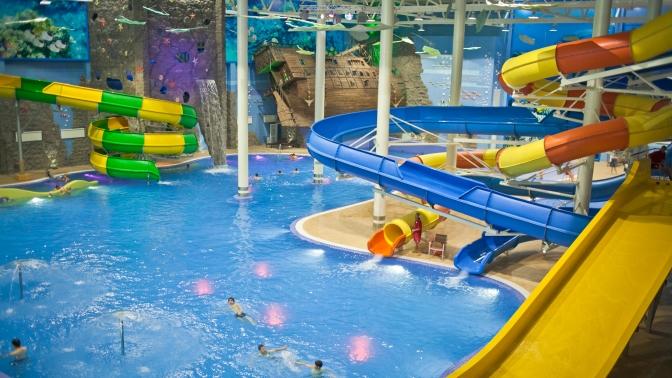 Целый день посещения аквапарка вТРЦ «Европа»