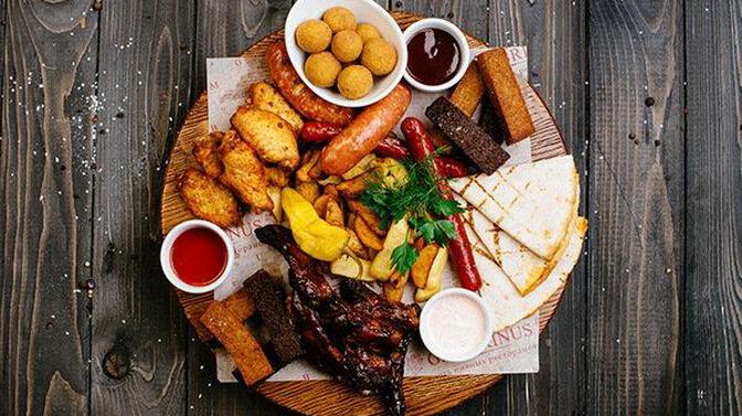 Блюда инапитки отслужбы доставки ресторана «Klaster Жулебино» соскидкой50%