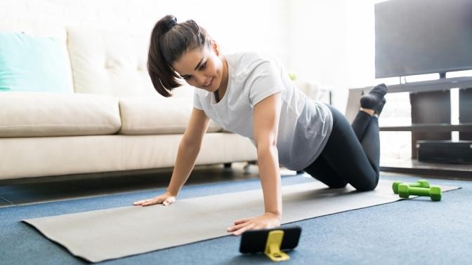 Базовый курс тренировок, суставная гимнастика отспортивного женского центра «Тонус-клуб®»