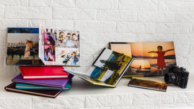 Печать фотокниги сперсональной фотообложкой вкнижном переплете или напружине