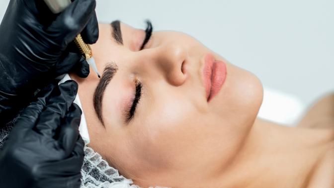 Перманентный макияж бровей, глаз игуб отстудии красоты «Стиляги»