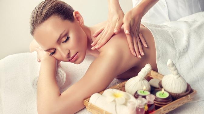 Сеансы массажа, SPA-программа всалоне красоты «Оазис»