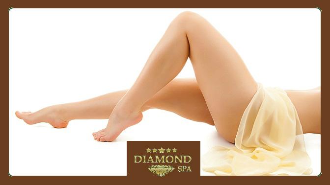 Антицеллюлитный массаж или сеансы программы для коррекции фигуры «Идеальное тело» всети салонов красоты Diamond SPA