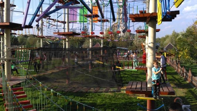 Билет напосещение веревочного парка откомпании «Тур-Сафари»