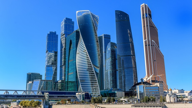 Обзорная экскурсия насмотровую площадку «Москва-Сити» на75этаже откомпании Vision