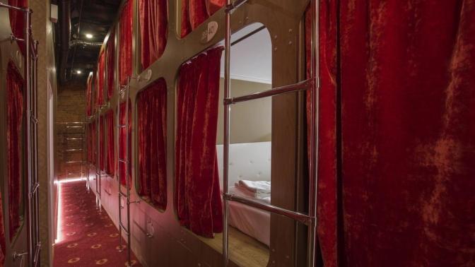 Отдых вцентре Санкт-Петербурга вномере-капсуле вкапсульном отеле Nevsky Capsule Hotel