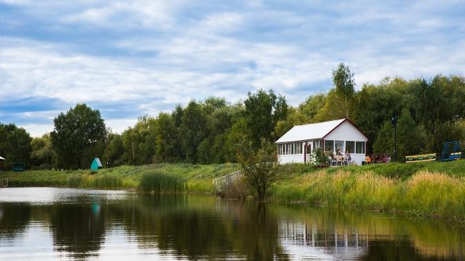 Отдых наберегу реки Омь спользованием мангалом, библиотекой, посещением детской игровой комнаты набазе отдыха «Подсолнухи»