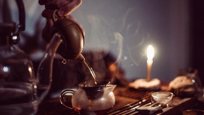 Чайная церемония с2видами чая, угощениями иуслугами чайного мастера вмагазине «Китайский чай» наРождественской