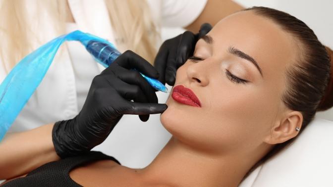 Перманентный макияж бровей, век или губ вбьюти-студии Mix