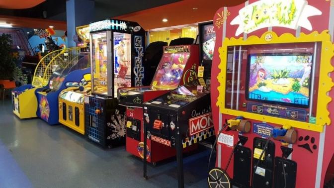 Игровая карта навсе аттракционы отдетского развлекательного центра «Игромакс»