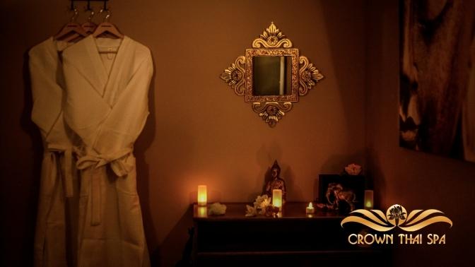 Тайский массаж, SPA-девичник или SPA-свидание по-тайски, SPA-программа «Экзотическое наслаждение» либо «Морской бриз» всалоне Crown Thai SPA