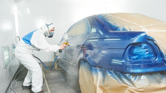 Покраска одного или нескольких элементов легкового автомобиля вцехе кузовного ремонта «Хамелеон»