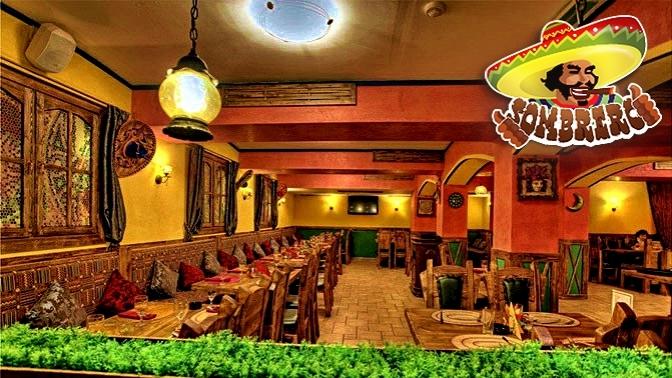 Всё меню инапитки вбаре-ресторане Sombrero соскидкой50%