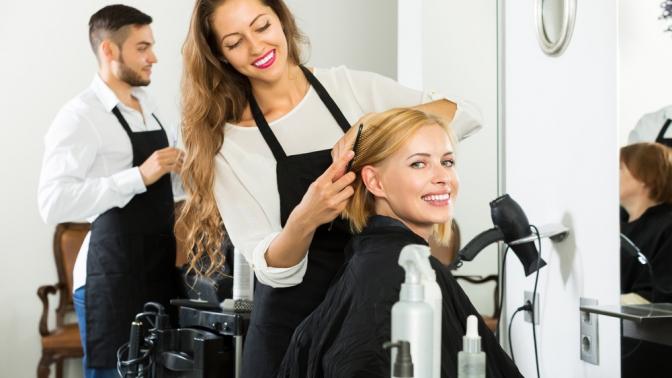 Мужская, детская или женская стрижка, окрашивание, ламинирование, ботокс для волос, оформление бровей всалоне красоты Elle