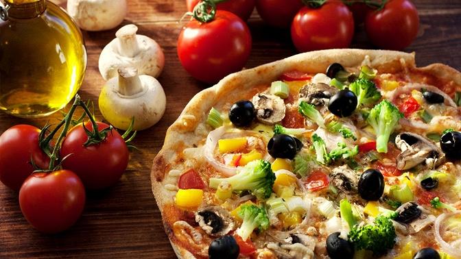 Весь ассортимент пиццы иосетинских пирогов отслужбы доставки Lana Pizza соскидкой50%