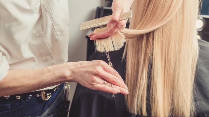Женская стрижка, укладка, окрашивание волос или мужская, детская стрижка всалоне «Центр красоты»