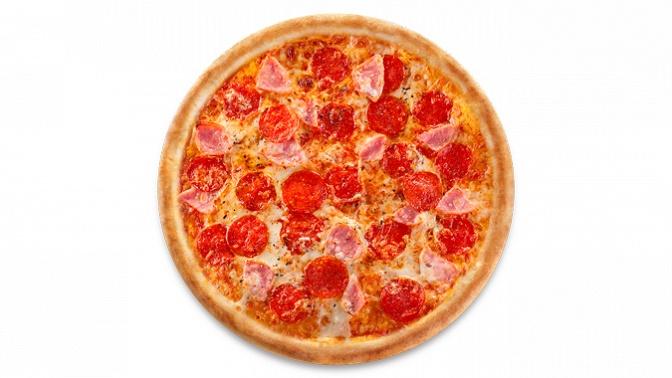 Большая пицца впиццерии «Сам пицца» соскидкой50%