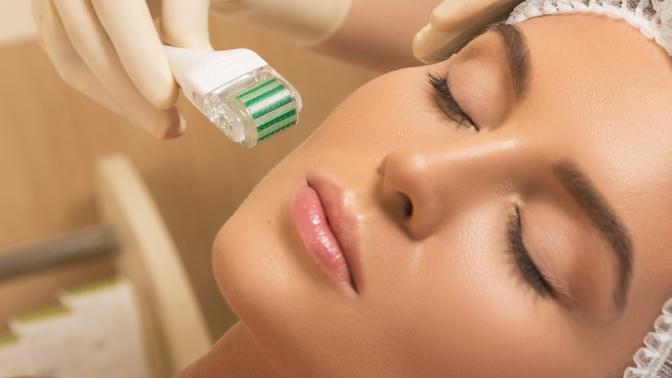 Ультразвуковая чистка, безынъекционная мезотерапия либо пилинг лица отврача-косметолога Анны Кремер