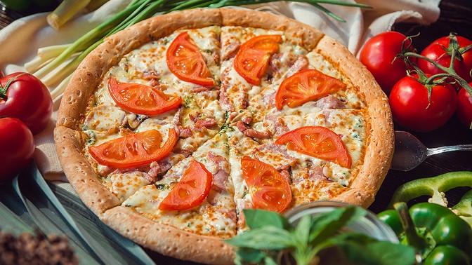 Доставка отмеждународной сети ресторанов Telepizza