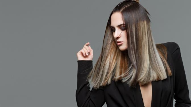 Женская стрижка, окрашивание, укладка, восстановление волос устилиста Сахаровой Ксении всалоне «Эрмитаж»