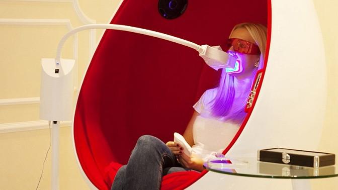 Отбеливание зубов до26тонов встудии SBS Magic White