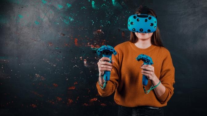 Погружение ввиртуальную реальность либо игровые пакеты вклубе виртуальной реальности «Врата»
