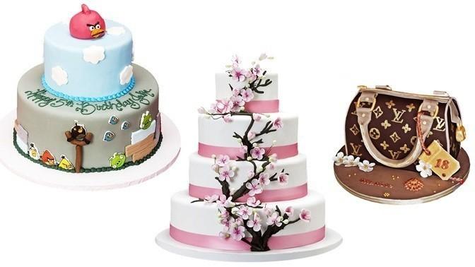 Торт весом 1, 2или 3килограмма изкаталога либо пособственному эскизу соскидкой50%