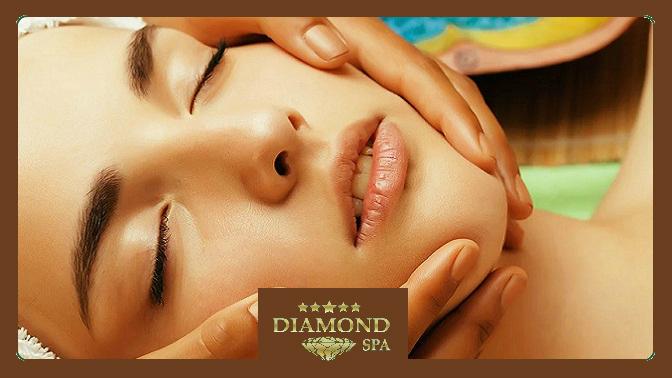 Сеансы чистки, пилинга, массажа лица или комплексного ухода снанесением альгинатной маски всалоне красоты Diamond SPA