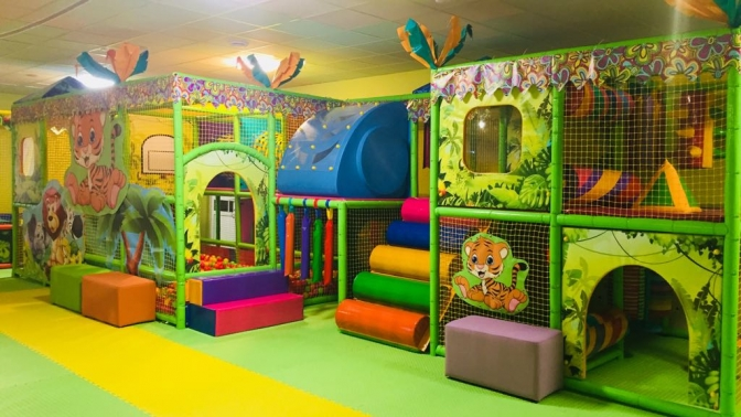 До5часов посещения детской игровой площадки отдетского развлекательного центра «Маленький принц»