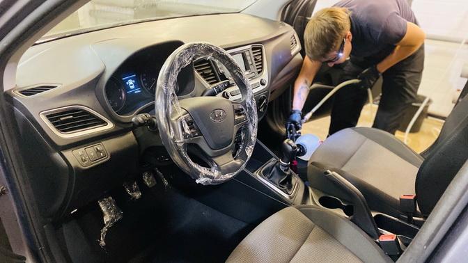 Химчистка салона автомобиля отстудии детейлинга Factura