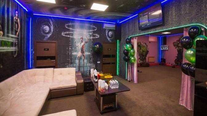 60минут игры вшлеме HTC Vive PRO вклубе виртуальной реальности Matrix