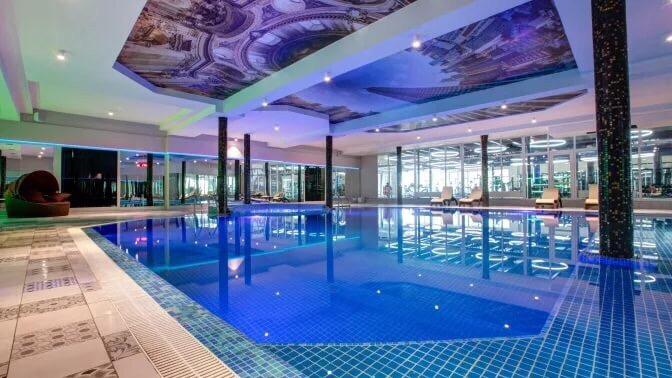 Отдых спитанием, посещением Wellness SPA ибассейна или без вVnukovo Village Park Hotel