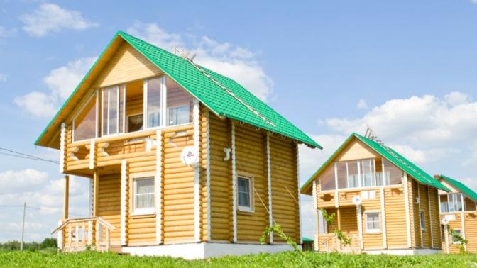 Отдых вдвухэтажном деревянном доме вбудние или выходные дни для компании до6человек вэкопарке «Рождествено»