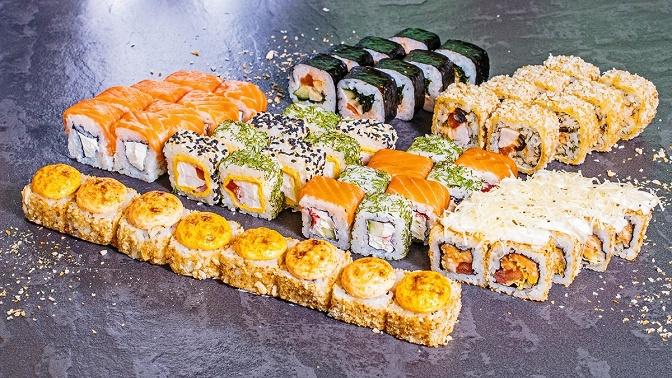 Суши-сеты откафе PizzoShi соскидкой50%