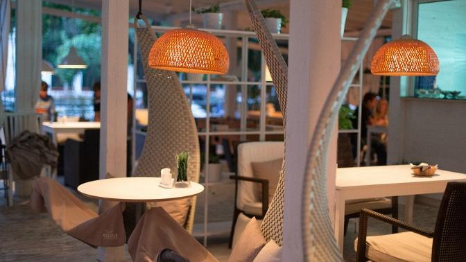 Романтический, дружеский ужин, девичник или отдых для компании вкафе Moloko Сlumba