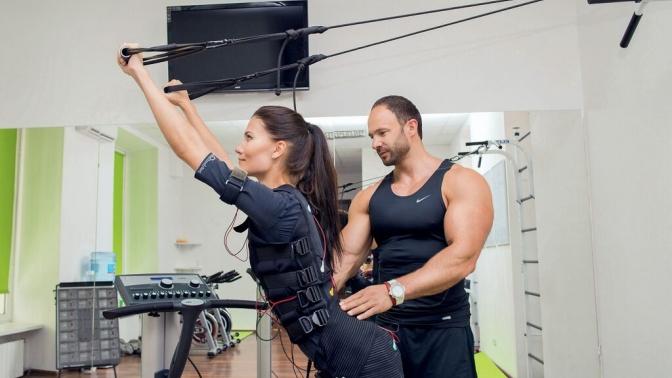 Фитнес-тренировки наEMS-тренажере Miha Bodytec встудии SprintFit