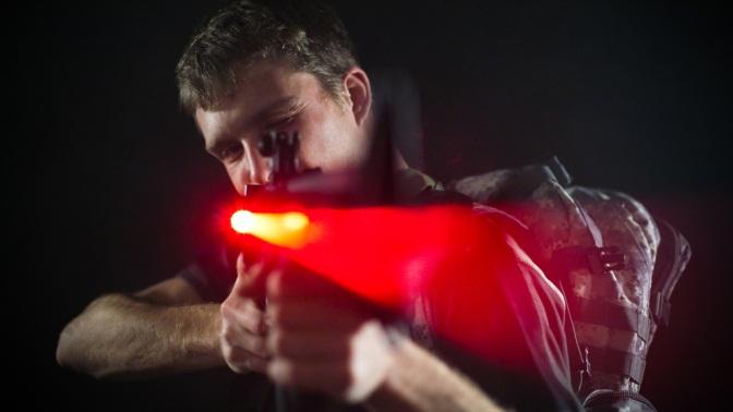 2часа игры влазертаг наплощадке «ДиПорт» отклуба активного отдыха «Атака»