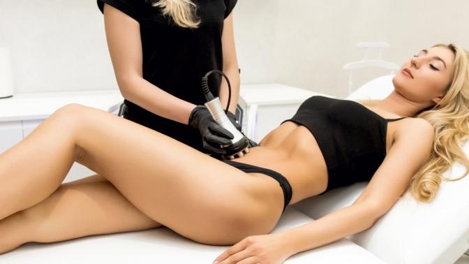 Сеансы RF-лифтинга, кавитации, прессотерапии или антицеллюлитной программы «90–60–90» в«Массажно-косметологическом кабинете»