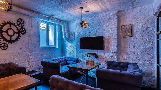 Напитки ипаровые коктейли влаунж-баре «Мята Lounge Новый Арбат» соскидкой50%