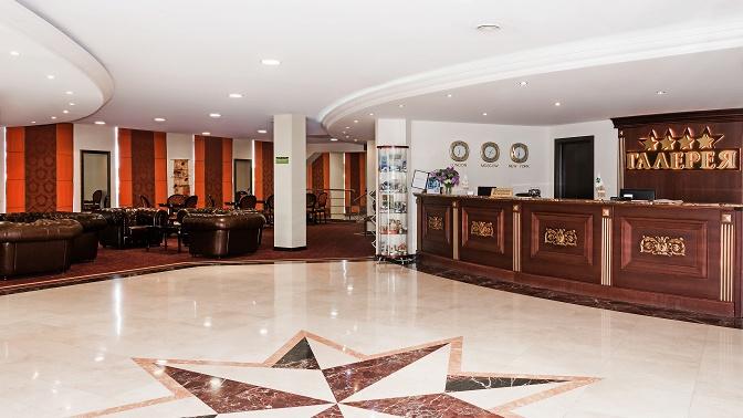 Отдых для двоих вномере категории студия, апартаменты или студия «Свадебная» сзавтраками вгостинице «Галерея»